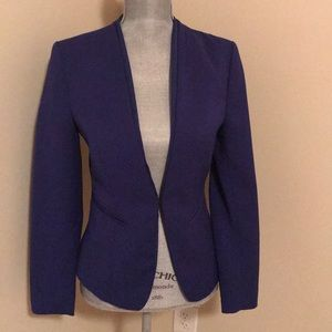 Blue H&M blazer size 8